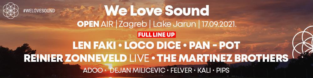 We Love Sound 2021 - lineup